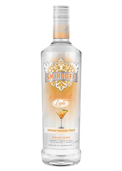 "... Beer, Liquor, And Wine!"": Products: Smirnoff Sorbet Light Mango"